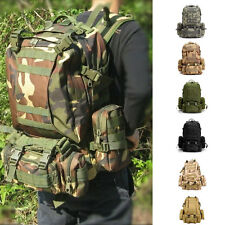 Military Camping Hiking MOLLE Assault Tactical Large Rucksack Backpack Bag
