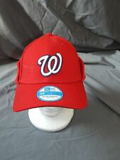 Washington Nationals New Era Hat 39Thrity Downflap S/M Baseball Cap CLEARANCE