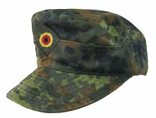 German Army Hat FLECKTARN CAMO FIELD CAP All Sizes Spot Camouflage Military