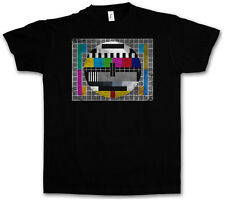 TEST PICTURE VINTAGE I T-SHIRT - The image Theory Retro Big TV Nerd Bang TBBT