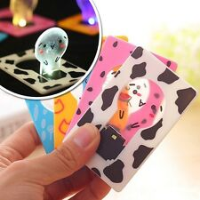 Creative Cute Modish Utility Pocket LED Card Light Lamp Put in Purse Wallet NEW
