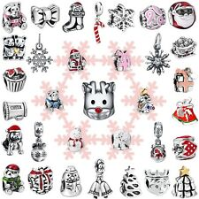 Fashion Holiday Gifts Bead Charms For Brand Women 925 Silver Sterling Bracelets
