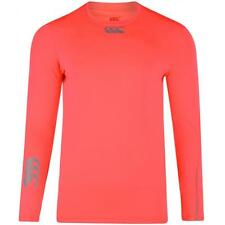 Canterbury Cold L/s Top Fluro Pink Adults Baselayer