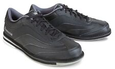 Brunswick Rampage Black Mens Right Handed Interchangeable Bowling Shoes