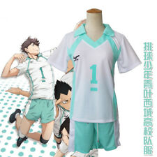 USA Ship Haikyuu Volleyball Oikawa Tooru Cosplay Costumes Uniform Sportswear