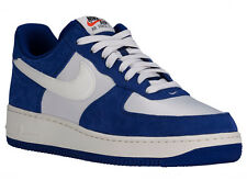 NEW MENS NIKE AIR FORCE 1 LOW BASKETBALL SHOES TRAINERS DEEP ROYAL BLUE / PHANTO