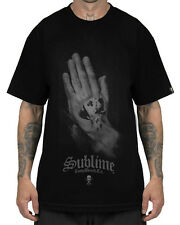 Sullen Clothing Sublime Praying Hands Mens T Shirt Black Tattoo Tee Goth