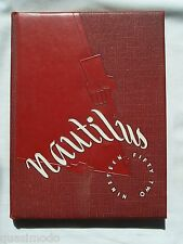 1952 JEFFERSON HIGH SCHOOL YEARBOOK LAFAYETTE, INDIANA THE NAUTILUS UNMARKED!