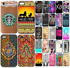 Hot Fashion Painted Pattern Hard Back Phone Case Cover For Iphone 4 5 6 6S Plus