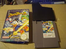 DUCK TALES 2 NINTENDO NES GAME BOXED WITH SLEEVE GOOD CON PAL A