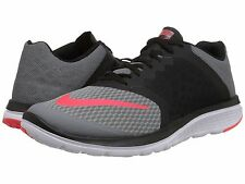 NIKE FS LITE RUN 3 GREY CRIMSON 2016 MENS RUNNING SHOES **FREE POST WORLDWIDE