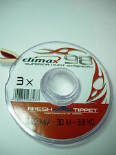 CORTLAND CLIMAX 98 H2O FLY FISHING TIPPET 30m Various Sizes