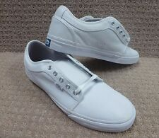 "Vans Men's Shoes ""Chukka Low"" -- White/Light Grey , Size 12-13"