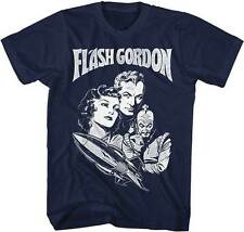 Flash Gordon Rocket Men's Black T-Shirt S,M,L,XL,2XL,3XL