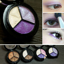 Beauty 8 Colors Eyeshadow Natural Smoky Cosmetic Eye Shadow Palette Make Up Tool