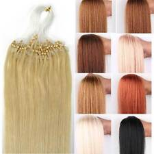 New Loop Micro Rings Hair Extensions Remy 100% Human Hair Straight 18''20'' sell