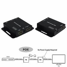 1080p 50m/164ft HDMI Extender With POE Over Single RJ45 Cat5e/6 EQ + IR extends