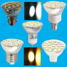 6x 4.8W LED Spot Light Bulbs, Stock, Day or Warm White Replaces Halogen Lamps