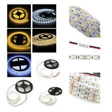 5M 5050 SMD 300 LED Warm/White Flexible Light Lamp Strip Energy Saving
