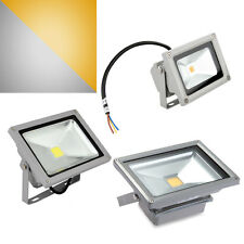 10W 20W 30W Waterproof White Warm White LED Floodlight Lamp  Hall Energy Saving