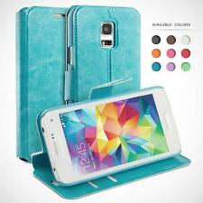 Wallet Case for Samsung Galaxy, Protective Leather Cases Flip Cover Book Cases