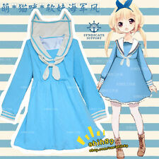 Harajuku Preppy Style Sweet Lolita Dress Anime Cosplay Costume Daily uniforms