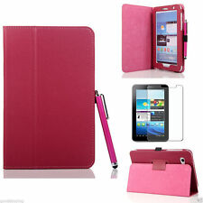 20 x Flip Stand LEATHER Case Cover for SAMSUNG TAB 2 7.0 7 Inch GT P3100 P3110