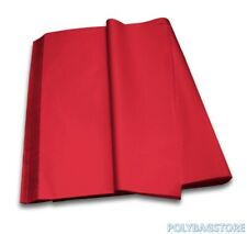 RED - LUXURY QUALITY COLOURED TISSUE PAPER ACID FREE - 750mm x 500mm