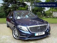 2015 Mercedes-Benz S-Class S500 Plug-in Hybrid L Hybrid blue Automatic