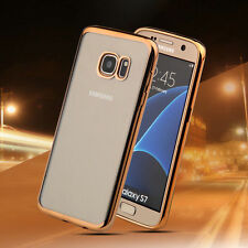 Ultra Thin Slim TPU Gel Skin Cover Case For New Samsung Galaxy S7 S7 Edge
