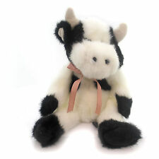 Boyds Bears Plush BESSIE MOOSTEIN Fabric Cow J.B. Bean Black White 5532