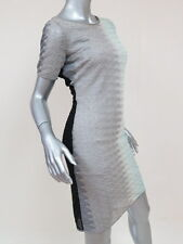 Missoni Dress Ombre Crochet-Knit Wool-Blend Gray/Seafoam Size 42 $1180