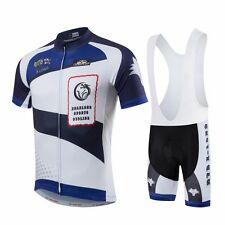 Mens Outdoor Bicycle Bike Cycling Clothing Wear Jersey & Bib Shorts Quick-Dry