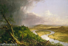 Thomas Cole The Oxbow, 1836  Giclee Canvas Print
