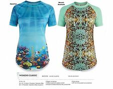 NEW Dakine Classic S/S Womens Medium Rashguard Swim Surf UV Sun Shirt Top Ret$50