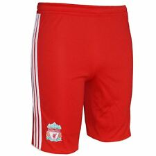 ADIDAS ESSENTIALS LIVERPOOL FC BOYS SHORTS SIZES Y8 Y10 OFFICIAL TRAINING SHORTS