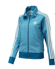 ADIDAS FIREBIRD TRACK TOP [ SIZE 38 / 40 ] TRAINING JACKET BLUE F78294 NIP