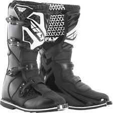 Fly Racing Maverik Dirt Bike Motocross Off Road Motorcycle Boots-See Sizes-Black