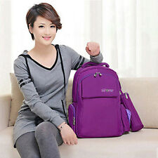 New Baby Diaper Backpack Nappy Changing Bag Mummy Travel Satchel Multifunctional