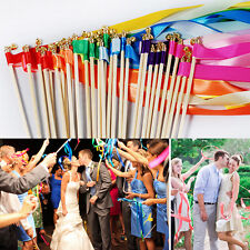 1Pcs Colorful Wedding Holiday Party Colorful Ribbon Wedding Supplies Streamers