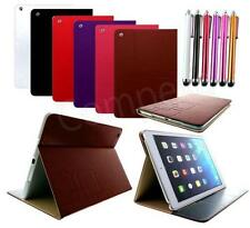 SMART CASE COVER STAND FLiP PU LEATHER + STYLUS PEN FOR for APPLE iPAD AiR 5