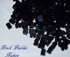 NEW! BLACK 1x2 LEGO BRICK pick lot size 10 or 100 Legos 3004 Bulk Parts pieces