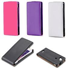 For Sony Ericsson Xperia Arc S / X12 Flip Case Cover LT15i LT18i PU Leather