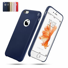 Ultra Slim Thin Soft Premium Leather Back Case Cover For Apple iPhone 6 /6S Plus