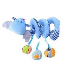 Baby Stroller/Pram Spiral Crib Bed Hanging Musical Toy Infant Rattles Gifts - LD