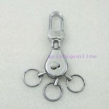 One 3 Snap Swivel Multi Removeable Detatchable Key Ring 3 removable Keyring Clip