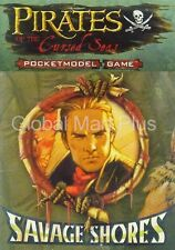 Pirates PocketModel Constructible Strategy Game Cursed Seas Savage Shores Wizkid
