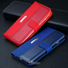 Magnetic Wallet Leather Case Card Slot Flip Pouch Stand Holder Cover For iPhone