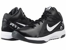 NIKE AIR OVERPLAY IX BLACK MENS 2E WIDE BASKETBALL SHOES ** FREE POST AUSTRALIA