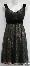 MONSOON AMELIE BLACK TULLE & SEQUIN PROM DRESS RRP £129 SIZE 8